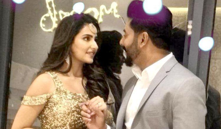 Raj and Shubhasree finally got engaged secretly