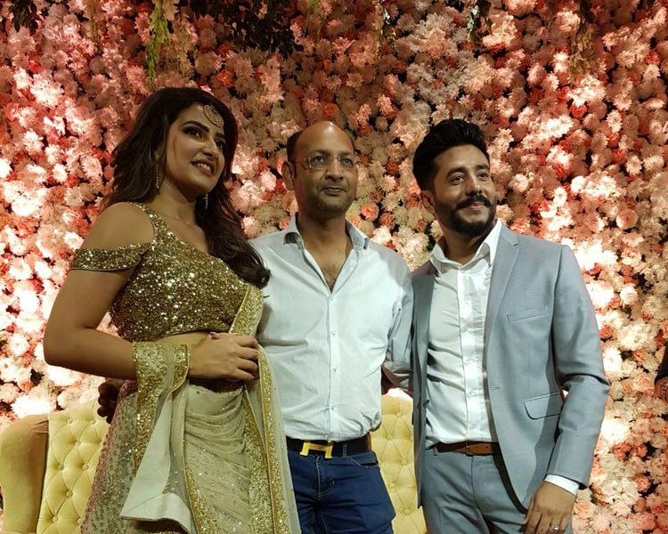Raj and Shubhasree with Shrikant Mohta