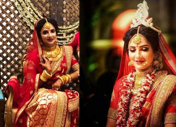 Here comes the 'elegant' bride