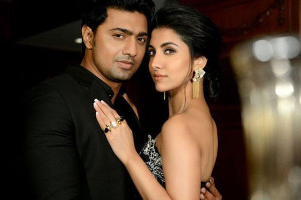 Dev Adhikari and his talented girlfriend Rukmini Mitra