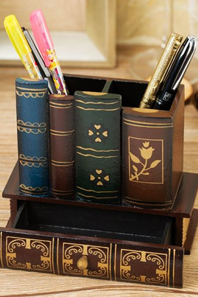 Pen case to keep all your pens in one place instead of just keeping them scattered all over your desk.