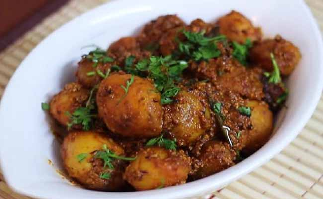# Dum Olav: It is nothing but our very own Dum Aloo prepared with a unique flavour and aroma. This dish is perhaps common to every cuisine varying in flavours.