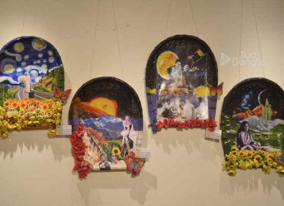 Exhibition by Shilpocharcha Foundation