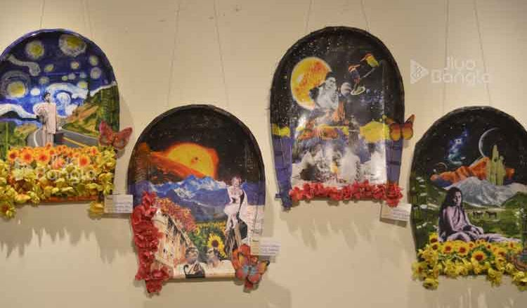 Exhibition by Shilpocharcha Foundation