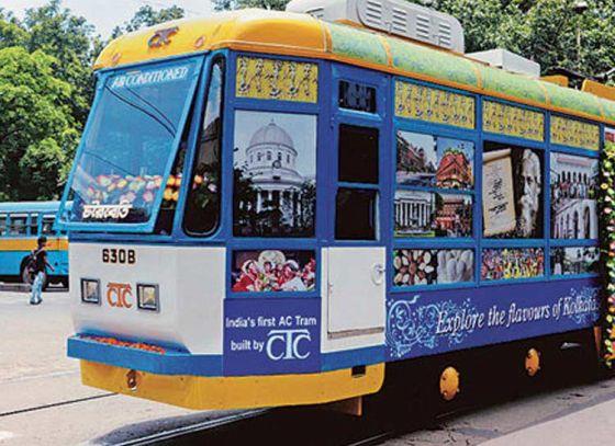 Winter Tram- session in Calcutta