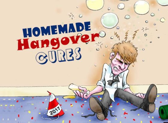 Revealed: Homemade Hangover Cures for this Christmas and New Year