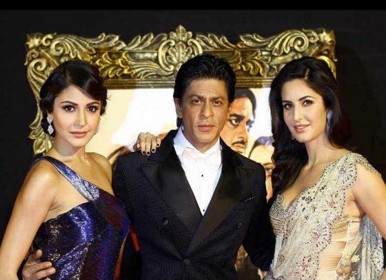 "Dwarf  SRK Return with Katrina & Anushka for ""Zero"""