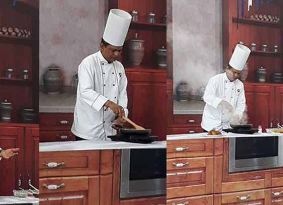 """Chef Indranil Ghosh Hosts Cookery Show in """"Ahare Bangla"""""""