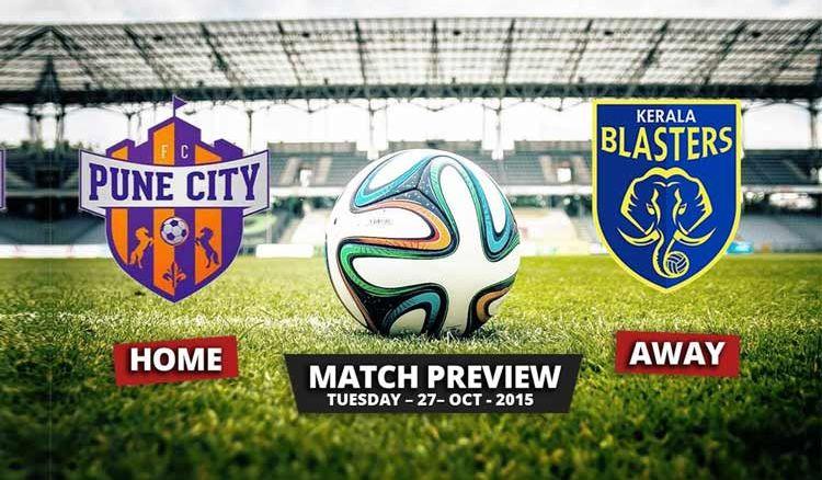 Kerala Blasters FC held FC Pune City at Home