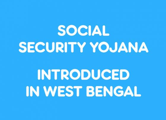 Social Security Yojana converging five beneficiary schemes introduced in West Bengal