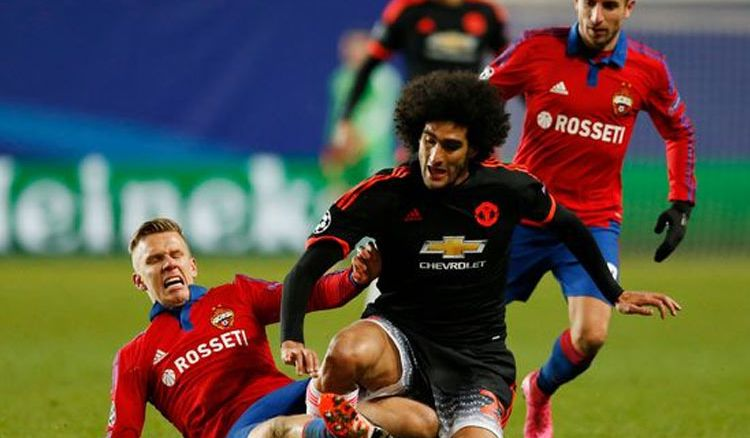 Manchester United 2-1 CSKA Moscow
