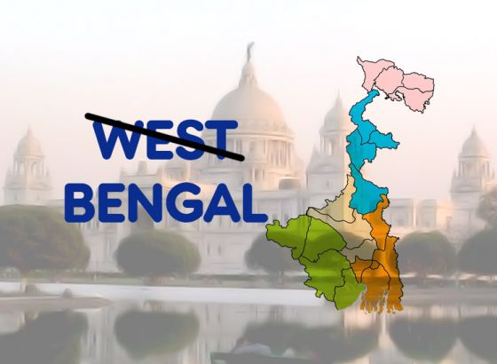 Mamata's cabinet dropped 'West', state renamed to 'Bengal'