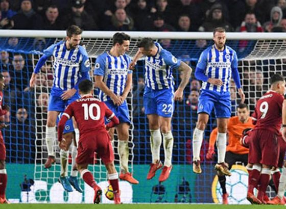 Brighton 1-5 Liverpool | Roberto Firmino seals a brace while Emre Can and Philippe Coutinho adds to the goals tally as Liverpool get back to top four