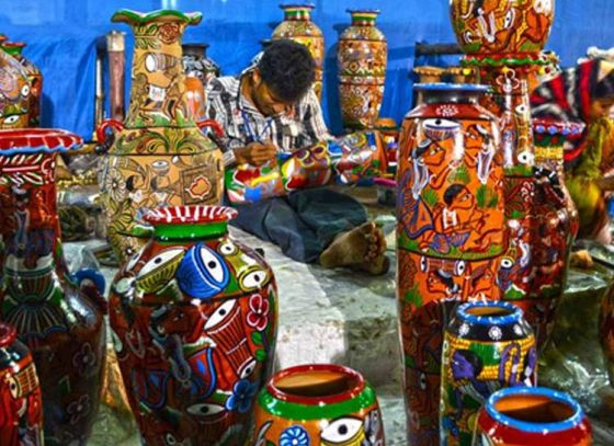 West Bengal hosts Handicrafts Fair 2017 in Eco Park, Newtown