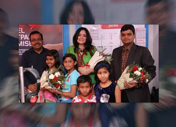 Agnimitra Paul graces the occasion of World Aids Day in association with Airtel