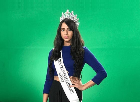 Kolkata gives India the first transgender beauty queen