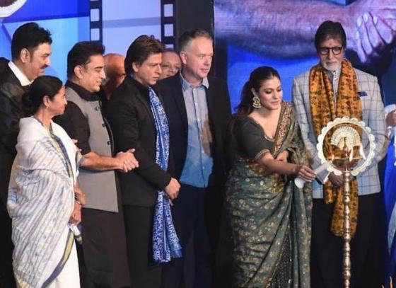 Indian superstars inaugurated 23rd Kolkata International Film Festival