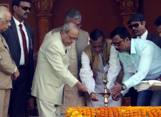 Dantan Gramin Mela inaugurated by President of India