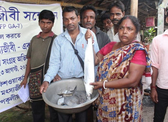 One Fish, One Fish Worker Campaign in Bengal