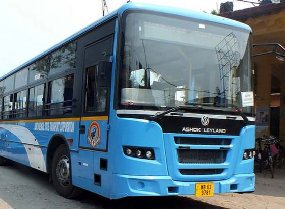 First Bio-gas bus with Re.1 fare inaugurated in Kolkata