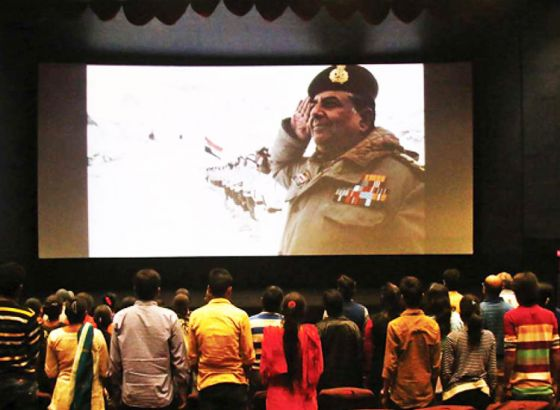 """National Anthem Becomes """"Optional"""" In Cinemas"""