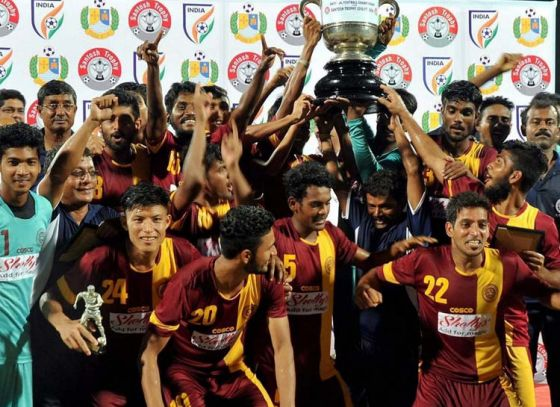 West Bengal beat Goa 1: 0 in a thrilling encounter to win Santosh trophy
