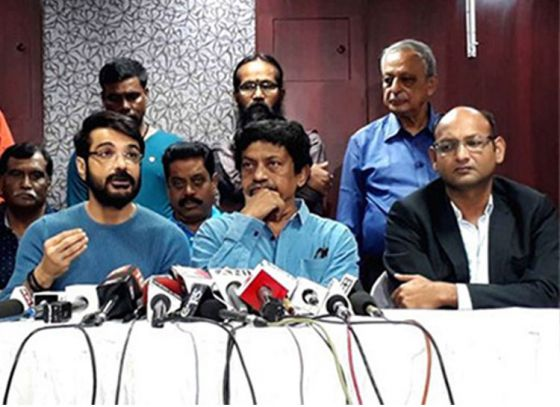 Bhansali got the Bengali film industry next side. Tollywood to observe 15-minute blackout against Padmavati protests.