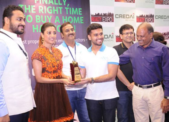 Paoli Dam Graces the Closing Ceremony of CREDAI Bengal's 10th Realty Expo