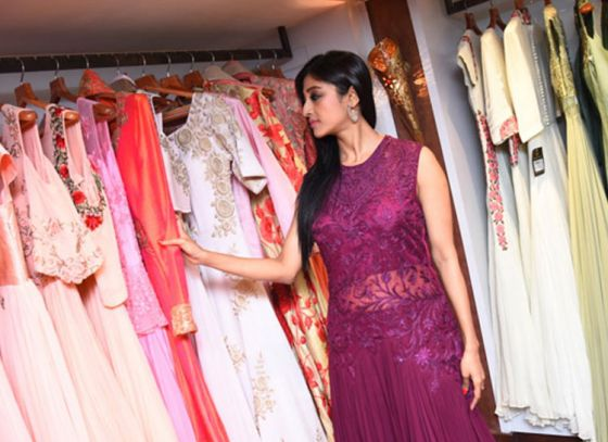 Paoli Dam Inaugurated Suruchi's New Shop