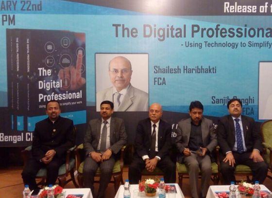 Mr. Sailesh Haribhakti and Sanjib Sanghi welcome Digital Revolution through launch of new book 'The Digital Professional'