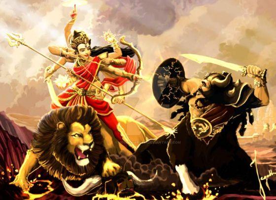 Vijayadashami symbolizes the victory of good over evil