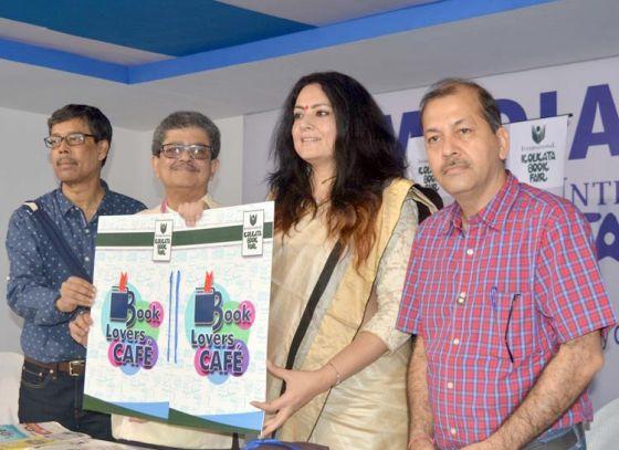 CESC Book Lover's Café at 42nd International Kolkata Book fair inaugurated by Agnimitra Paul