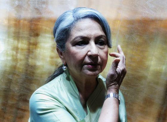 Sharmila Tagore inaugurates jewellery shop in Kolkata