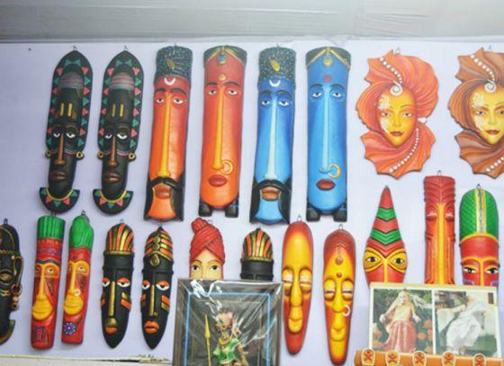 Handicrafts items prevailing in 42nd International Kolkata Book fair