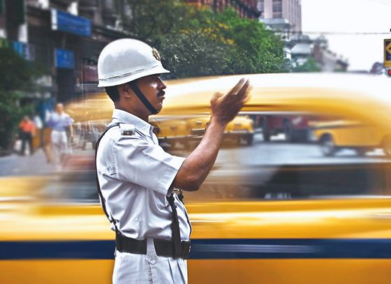 The Saviour of the city - The Traffic police