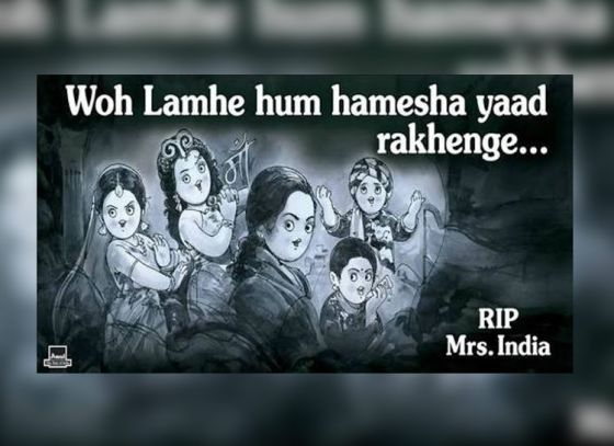 How did Amul pay a fitting tribute to Sridevi?