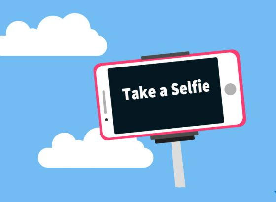 Say cheese and click a selfie!!
