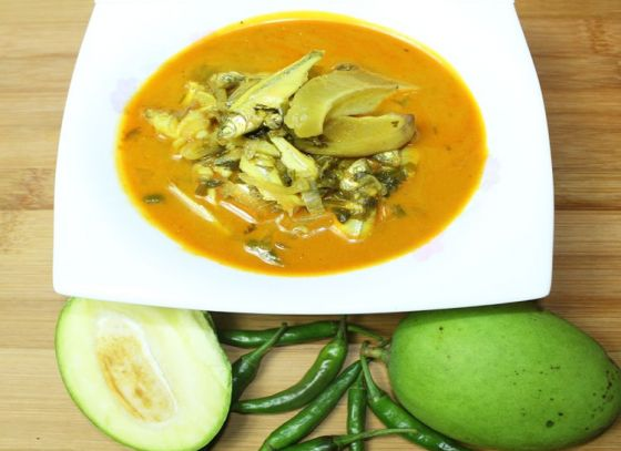 Have you tried Fish with raw mangoes?
