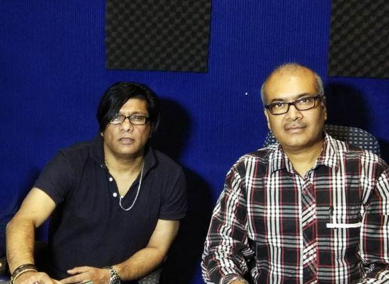 Indo-Bangladesh collaboration at the Om Studio, Kolkata