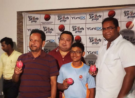 Pink Ball introduced in Under 14 Cricket tournament