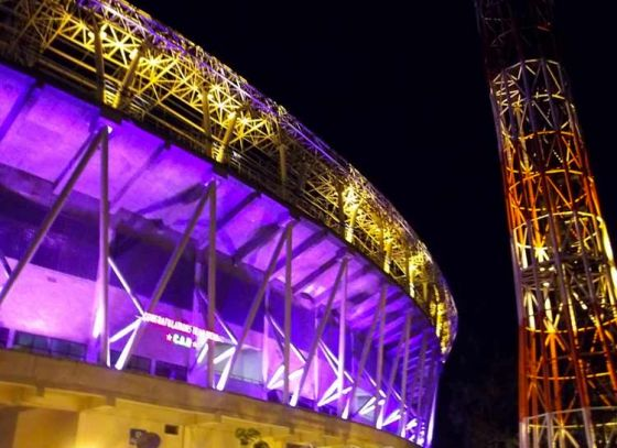 Eden unfolds its new colours as KKR gets ready to battle RCB