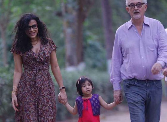 Amartya Sen gets his Grand daughter