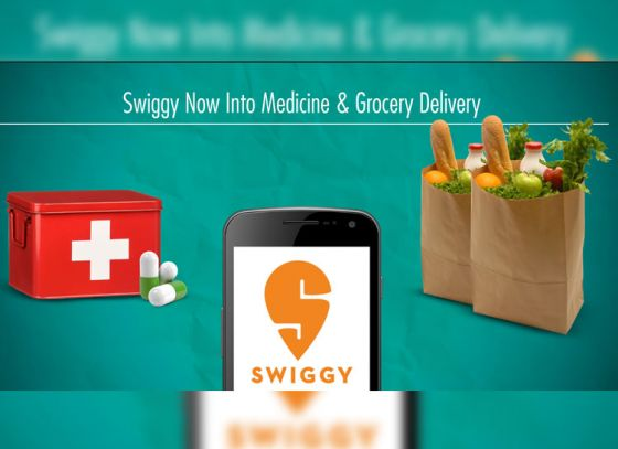 Knock Knock!! Swiggy man comes with medicines.