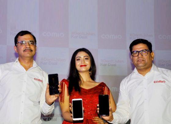 COMIO Launches 'X1 Note' in Kolkata with Ritabhari Chakraborty