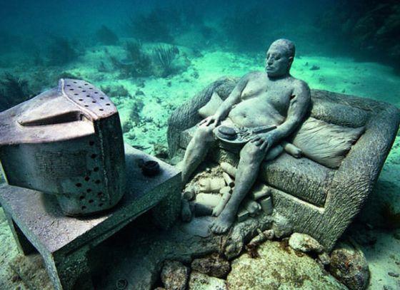 Dive into the Deep Blue Sea