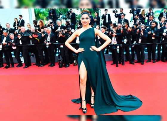 Deepika Padukone ups the glam quotient at Cannes