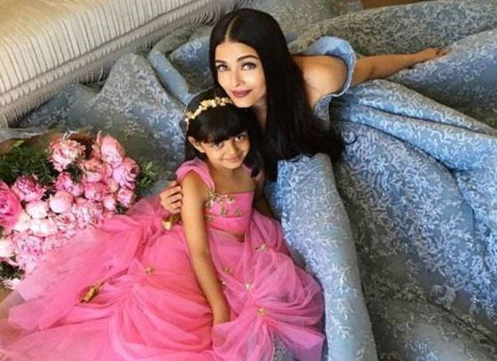 Aaradhya at the Cannes for the second time