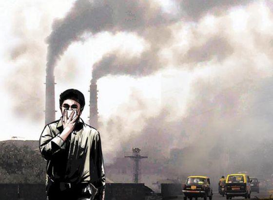 Air quality monitoring station at North Kolkata