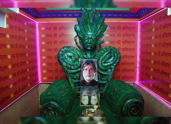 Have you heard of the Amitabh Bachchan Temple of Kolkata?