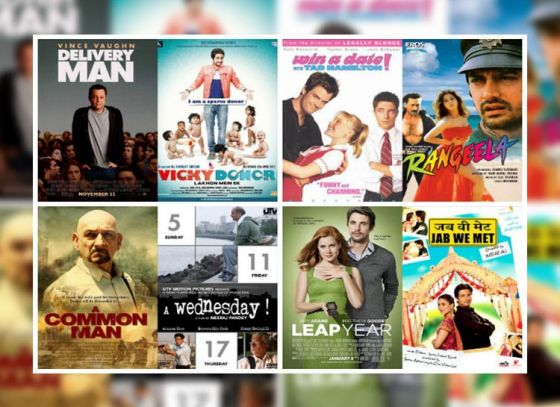 Hollywood movies that are remakes of Bollywood films